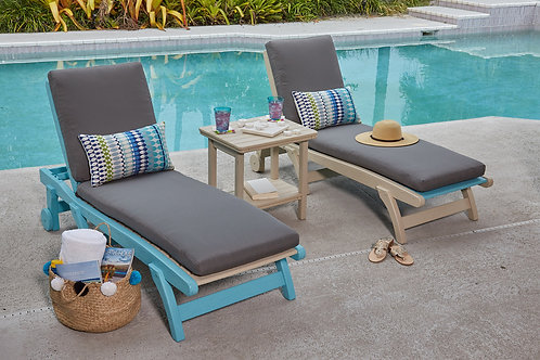 Breezesta Flat Sun Chaise Lounge