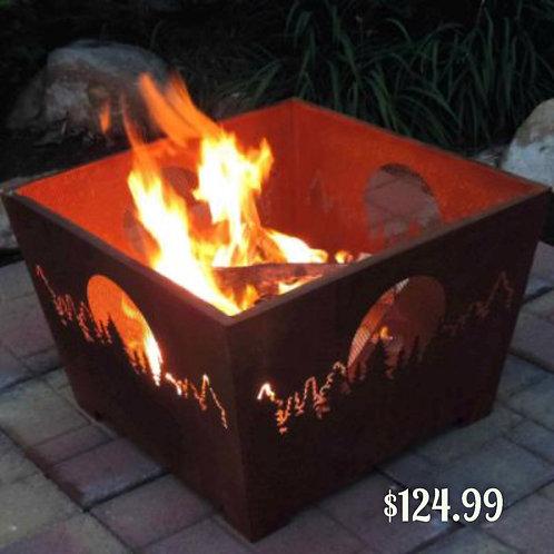 Smoky Mountain Fire Basket