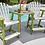 Thumbnail: Coastal Counter Chairs w/ Tête-à-Tête Table Top
