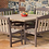 Thumbnail: 58x58 Dining Table w Skyline Garden Benches