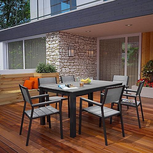 Maine 5 Piece Outdoor Patio Dining Set