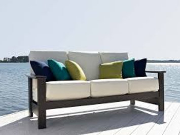 Leeward MGP Cushion, Three-Seat Sofa