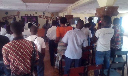 T3 Global Sierra Leone - students in ori