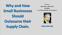 Webinar: Small Business' Supply Chain