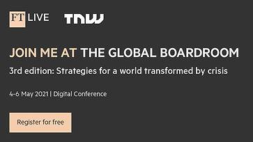FT Live Global Boardroom Banner