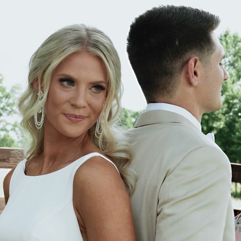 Brittany & Samuel Kail   Wedding Day