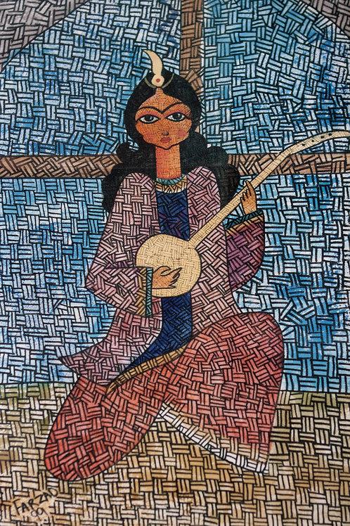 Persian Tar Player