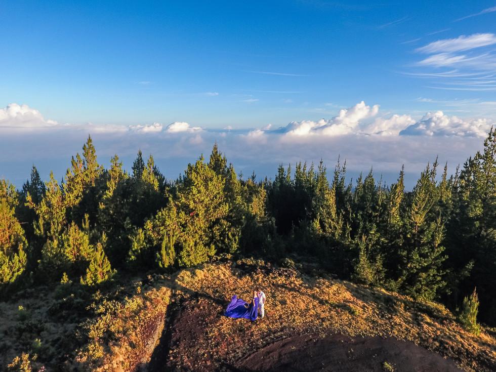 Haleakala Maui drone photography