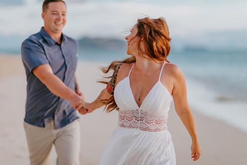 Hawaii Couples Photographer Lanikai Beac