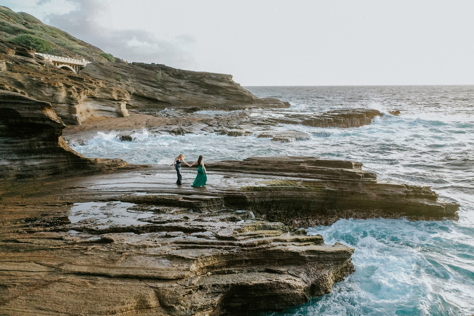 Hawaii Engagement PhotographerJennaLeePi