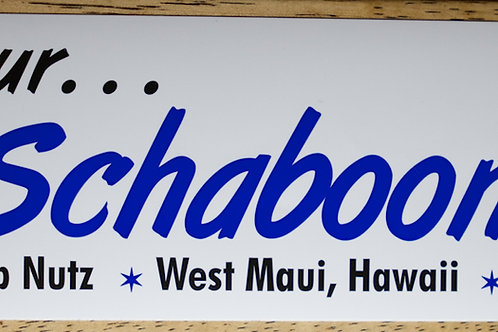 Schaboomski! Sticker