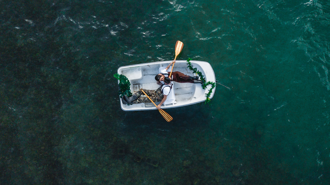 Oahu, hawaii drone photography