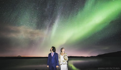 Iceland Wedding Photographer Aurora Borealis Northern Lights Wedding Photography
