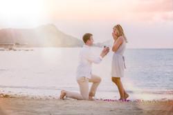Waikiki Beach Proposal - Engagement Photography - Jenna Lee Pictueres - Maggie + Vernon-51-Edit