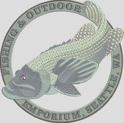 Tropical Reef Fish Emblem