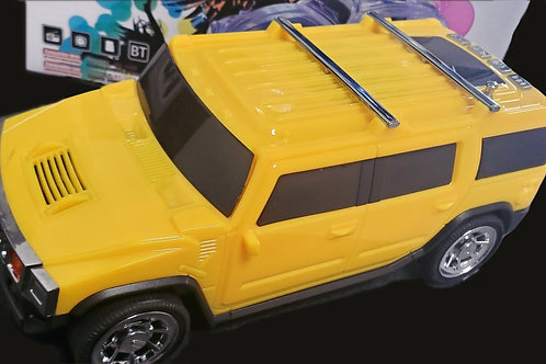 Yellow Hummer Speaker