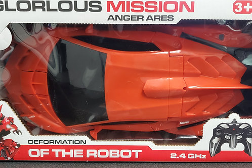 Glorlous Mission Anger Ares Transformer