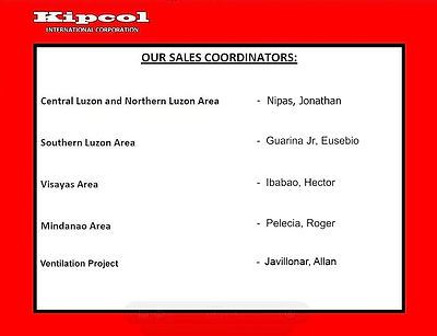 KDK International Philippines Corp. Sales Coordinator