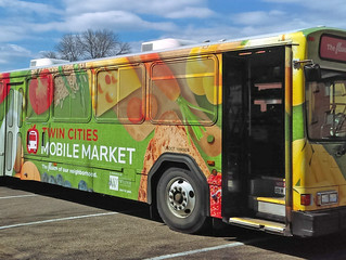 Twin Cities Mobile Market: Fresh food right outside your window!