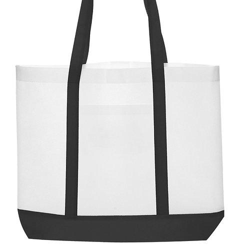 Two tone Canvas Shopping Bag