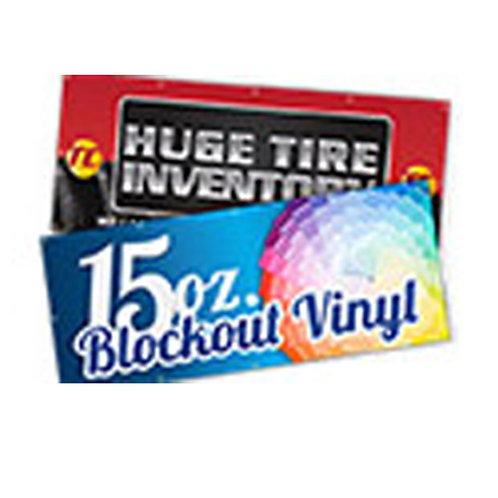 Block-out Vinyl Banner