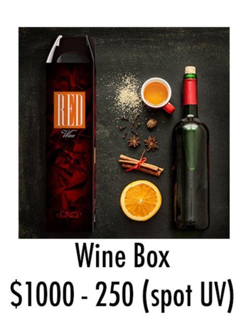 Wine Box - Spot UV - 250