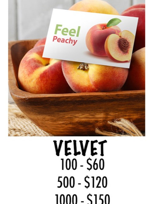 Velvet Business Card - 100