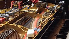Lutherie robotique  dans les entrailles  d'un piano à queue > 40 personnes max > Variations au R-1 pour les recalés