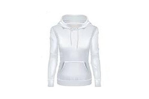 White ladies hoodie