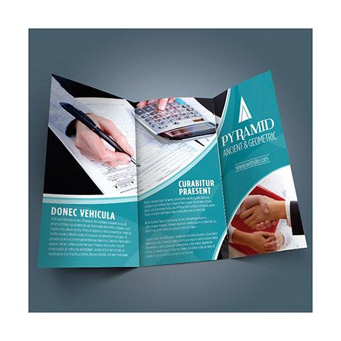 Tri-fold Brochure/ Menu