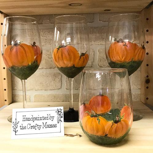 Crafty Mamas Handpainted Glassware