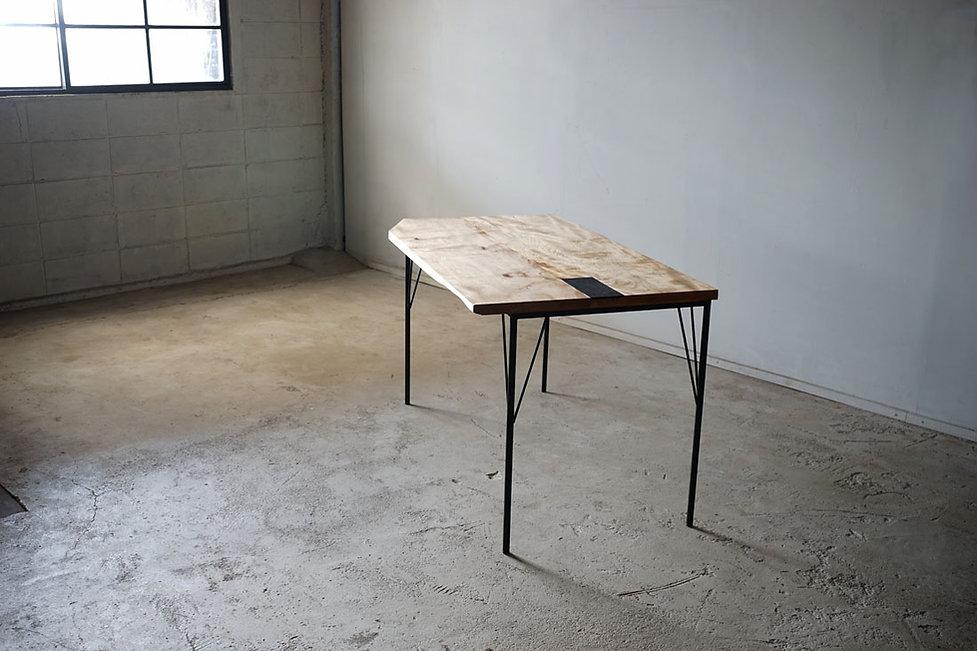 枯白 枝脚 ダイニングテーブル