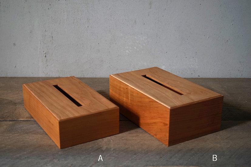 ティッシュボックス 桜 A,B