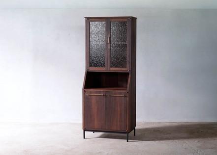 食器棚 枯白 カップボード