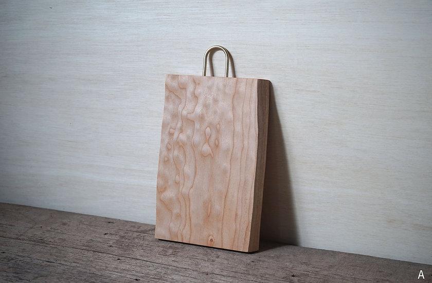 木の形まな板 メープル