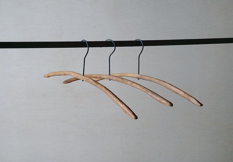 スティックハンガー ライト 手彫り チェリー L
