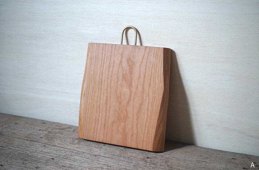 木の形まな板 チェリー