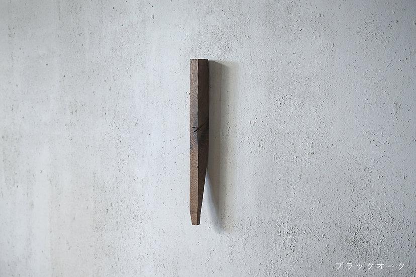 古木の壁付け花器