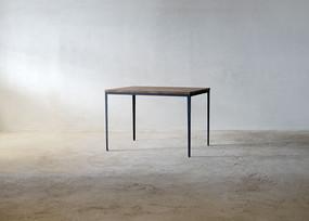 枯白 細脚テーブル