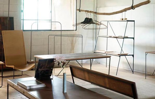 枯白 家具 什器 家具屋 姫路 姫路市 兵庫県 展示 木と鉄 インテリア テーブル 椅子 ベンチ 棚 椅子 ソファ ハンガーラック