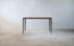 細脚 ダイニングテーブル