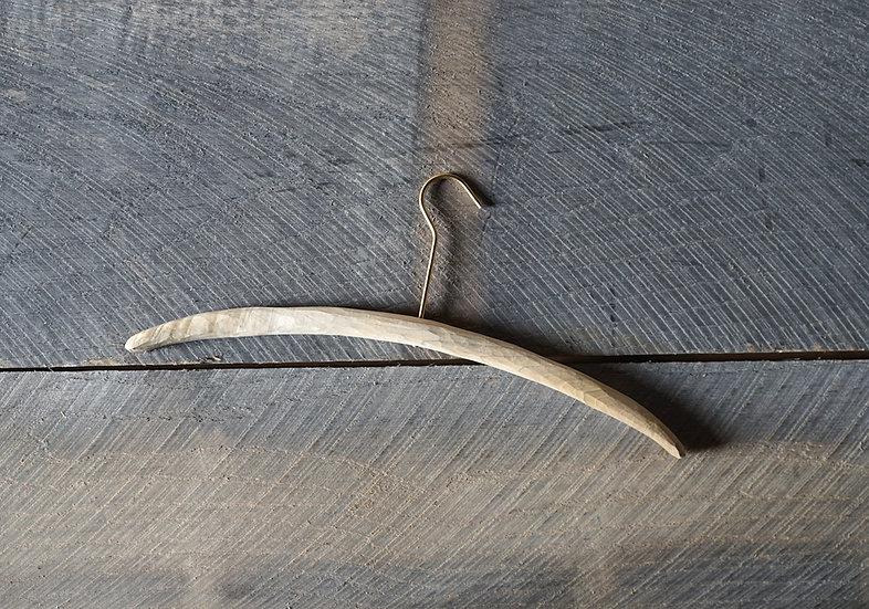 スティックハンガー 手彫り ホオ L 一点品