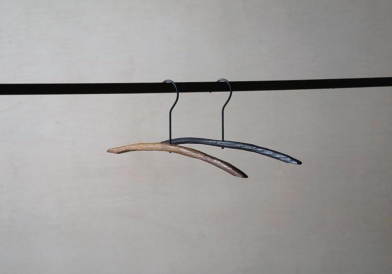スティックハンガー ライト 手彫り ブラックオーク S