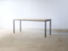 角脚 ダイニングテーブル