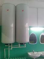 Установка водонагревателей 150 литров с подключением