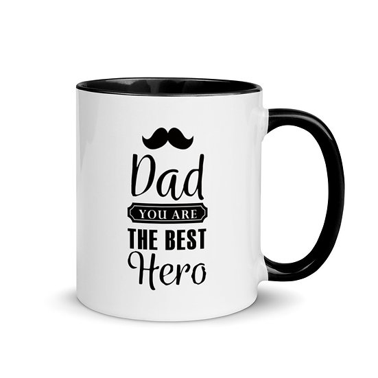 Caneca - Dad Best Hero
