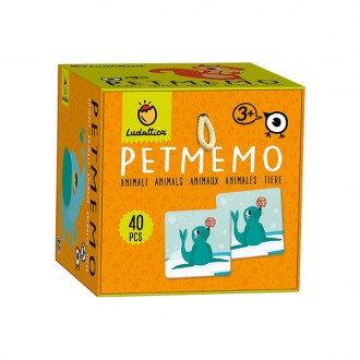 PETMEMO Jogo de Memória (Animais) - Ludattica