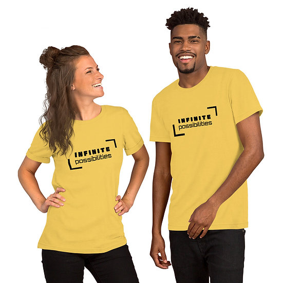 Short-Sleeve Unisex T-Shirt - INFINITE possibilities