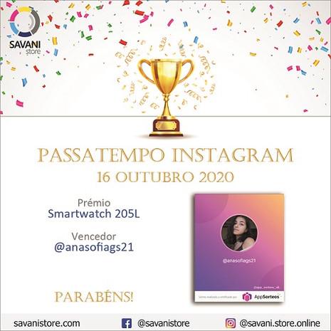 Passatempo Instagram 16 Outubro