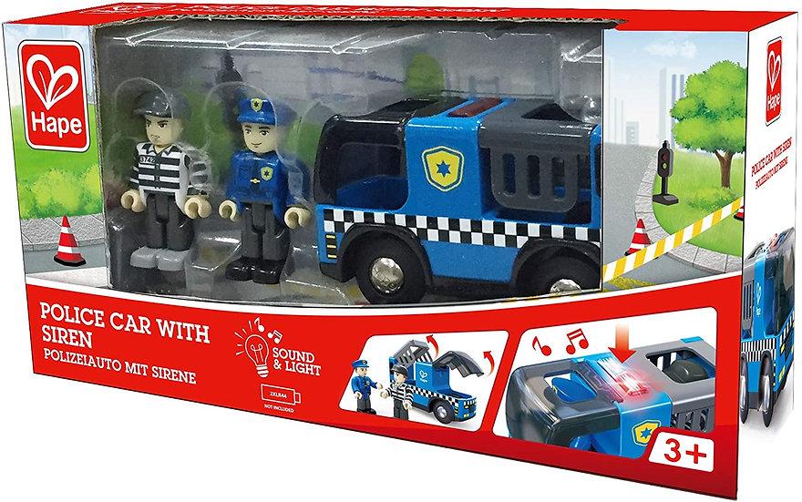 Carro Policia com Sirene, Luz e Som - Hape